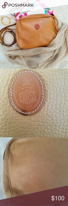 Mark Cross Camel Leather Crossbody Older but still gorgeous! Super soft leather - inside and out. Inside almost immaculate. Perfect shopping purse and gives that laid back vintage look in a classy, stylish way. Gold details. Slight imperfections photographed but overall great condition! Mark Cross - from Saks. In my opinion will get more lovely the more it ages. Great bag!  BUNDLE your likes and shoot me and OFFER for best deals.  Follow on IG: @the.junk.drawer Mark Cross Bags Crossbody Bags