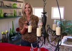 Upgrade an Outdated Chandelier | Easy Crafts and Homemade Decorating & Gift Ideas | HGTV