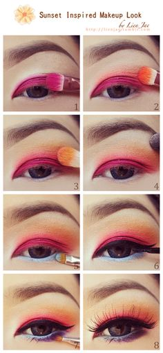 Make up step by step  - I do Make Up in the Car