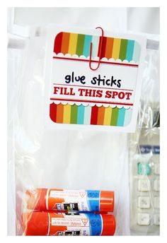 How to make your own school supplies organizer from a shoe organizer.