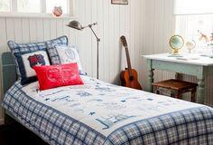 Ropa de cama infantil http://www.mamidecora.com/habitaciones%20infantiles-ni%C3%B1os-room-seven.html