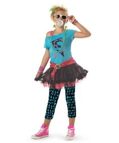 Valley Girl 80s Girls Costume