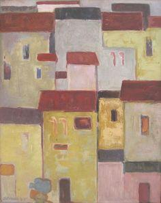 "Norberto Berdía ""Viejos muros"" Óleo sobre tela 50 X 40 cms. Año 1975  http://www.portondesanpedro.com/ver-producto.php?id=10849"