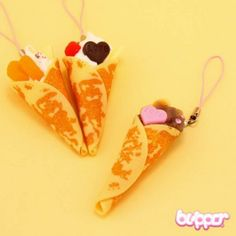 Sweet Crepe Charm - Straps & Charms - Mobile Accessories | Blippo Kawaii Shop