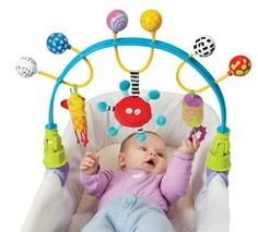 Taf Toys Flexi Arch Baby Stroller and Pram Activity Bar -- Want additional info? Click on the image.