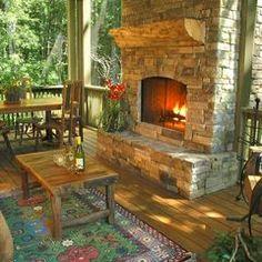 eclectic porch The Pond House Porch