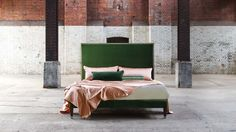 For the very best of British interiors craftsmanship, look no further than our pick of the top ten British furniture designers. Beds Uk, Luxury Furniture Brands, Cozy Bed, Contemporary Bedroom, Modern Bedroom, Master Bedroom, Bed Styling, Luxurious Bedrooms, Luxury Bedding