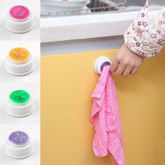 1 PCS Lavagem pano clipe rack de armazenamento titular clipe dishclout rack de armazenamento quarto de banho toalha de mão Quente