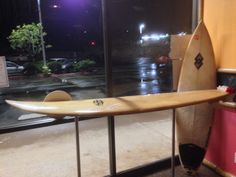 Surfboard Table    Bar Height. So Amazing!