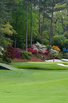 Augusta National Golf Club - got to attend the Wednesday practice round and par 3 tournament in April 2006.