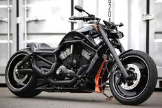 Custom v-rod by Bad land