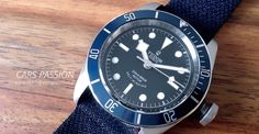 TUDOR Heritage BLACK-BAY Blue - Montre de Luxe