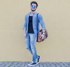 Outfit Men, Fashion Men, Men Style, All Star, jeans style - www.rodrigoperek.com