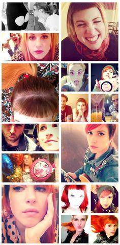 Hayley Williams + Instagram