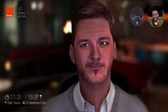 """#JumpCamp La aplicación que le permite saber cómo sería su rostro en 20 años Con esta aplicación usted puede ver y hablar con su """"yo"""" del futuro.con modelos 3d"""