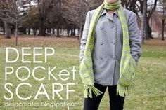 Deep Pocket Scarf | Skip To My Lou