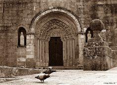 Santa Mª del Azogue. Betanzos, La Coruña. Doorway, Barcelona Cathedral, Tourism, Explore, Photo And Video, World, Building, Portal, Travel