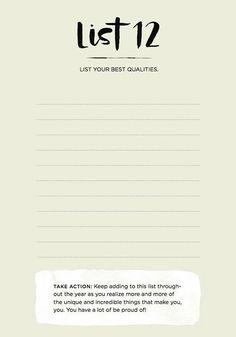 your best qualities
