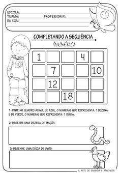 Kindergarten Homework, Preschool Math, Montessori Activities, Infant Activities, Cutting Practice, School Worksheets, Math For Kids, Mathematics, Classroom