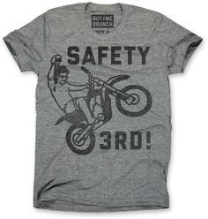 Safety 3rd Mens Tee Grey