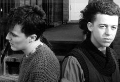 "Tears For Fears' brand of synth-pop. If there are godfathers of adult alternative music, they're Tears For Fears. The bleak, echoing piano on ""Mad World"" was most everyone's first glimpse into the emotional abstraction of Roland Orzabal's songwriting and Curt Smith's soul-inspired vocals. With 1985's Songs From The Big Chair, the group entered the big leagues thanks to hits such as ""Shout,"" ""Everybody Wants to Rule the World"" & ""Head Over Heels.""  http://www.tearsforfears.com"