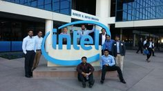 Students had a great time at Intel.