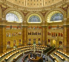 The reading room is also amazing to see – you might recognize it if you watched the 2007 movie National Treasure: Book of Secrets starring Nicolas Cage. (I found these images and info on http://the-lost-symbol-guided-tour.blogspot.com/2009/09/chapter-46.html)