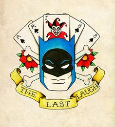 The last laugh by Jenai Chin. Aces over eights, dead man's hand