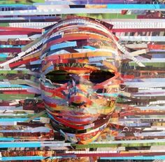 Art+Projects+for+Teens | media projects including art journals paper making collage mask art ...
