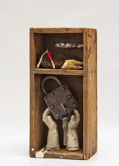 Wishes, Wasps, and Pulling Teeth, Art Assemblage by Amanda J. Cawby