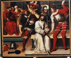 Artist: Macip, Vicente, Title: Cristo de los improperios, Date: 2nd third of the 16th Century