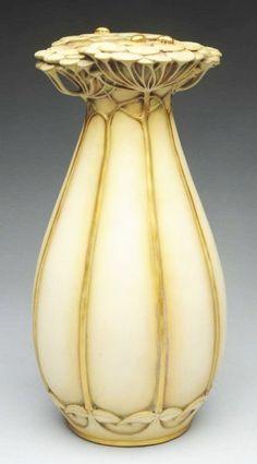 Paul Dachsel Ceramic Ladybug Vase.