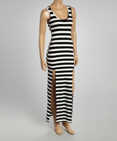 28bdbc8e410 35 Best Black and White Striped Maxi Dress images