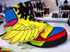 "new arrival 58aa8 ace2a Jeremy Scott x adidas Originals JS Wings ""Multicolor Fleece"" – New Images"