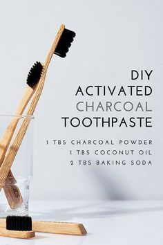 Brace yourselves & say hello to our new DIY for teeth whitening. Activated Charcoal helps to remove toxins and stains in our teeth. Yay for healthy teeth!