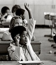 It is hard to believe that integrating schools would still be an issue today since it has been at least 45 years since Brown v. Board of Education but it is. This has a lot to do with closed enrollment and zoning since it has been shown that certain races are more prevalent in different areas. Coming from a rural area I don't see a lot of diversity in the schools. This is an interesting article to think about.