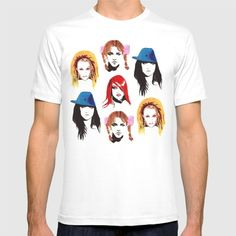 Britney Spears Look Book T-shirt by Kish's Canvas. Worldwide shipping available at Society6.com. Just one of millions of high quality products available.