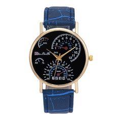 Mens Watches Top Brand Luxury Analog Quartz Wrist Watch Leather Strap Fashion Printed relogio masculino Male Clock Reloj Hombre