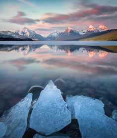 Cold beauty of Lake McDonald in Glacier national park. BY Nicholas Parker, - Nature/Landscape Pictures Lago Mcdonald, Prospect Park, Tanzania, Kenya, Photographie National Geographic, Instagram Photo Contest, Grand Canyon, Photography Contests, Travel Photography