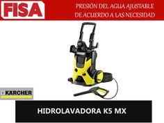 HIDROLAVADORA K5 MX. Presión del agua ajustable -FERRETERIA INDUSTRIAL -FISA S.A.S Carrera 25 # 17 - 64 Teléfono: 201 05 55 www.fisa.com.co/ Twitter:@FISA_Colombia Facebook: Ferreteria Industrial FISA Colombia