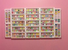 This is my display case! We used Ice cube trays. #shopkins - shopkinlover104