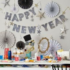 New Year's Party Garland