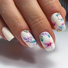 Best Nail Designs - 44 Trending Nail Designs for 2018 - Best Nail Art #nails #nailart #naildesigns - credits to the artist