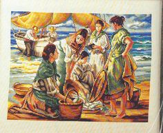 Gallery.ru / Фото #121 - 31 - OlgaHS beautiful cross stitch link to pattern