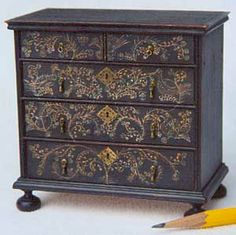 "James Hastrich ~ Maker of American Painted Furniture in 1"" and 2"" scale"