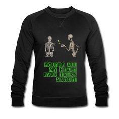 Verliebtes Skelett Pullover & Hoodies - Männer Sweatshirt von Stanley & Stella