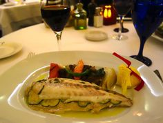 We're in the mood for some Mediterranean Branzino Baked in Salt Crust with Mixed Vegetables for this #MeatlessMonday!    Does this look delicious or what?