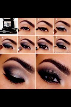 Easy Step By Step Smokey Eye