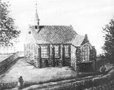 Ommel: Tekening uit 1787 van de kapel.