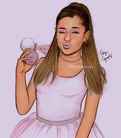 ARI BY @arianagrande ✨ so fkg proud of this drawing omg I mean wow... pls Tag ariana and follow my personal @felipegoca tell me if u want more drawings of the short film REPOST IF U CAN